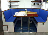 galley seats by mac's upholstery