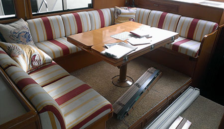 Marine Upholstery Yachts Boats Commercial Vessels