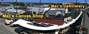Boat Canvas, Dodgers, Boat Enclosures Seattle