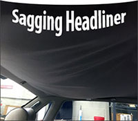 Fix Car Headliner Replace Car Headliner