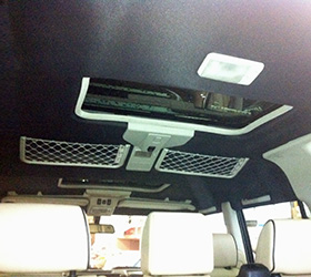 land rover headliner