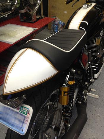 Custom Motorcycle Seats   Motorcycle Seat Repair