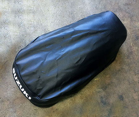 wrong motorcycle seat cover