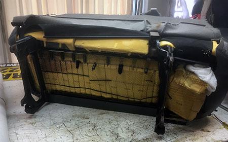 Phenomenal Truck Seat Repair Truck Interiors Spiritservingveterans Wood Chair Design Ideas Spiritservingveteransorg